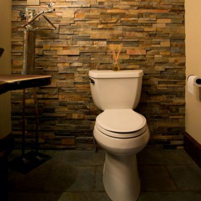Туалет в стиле фьюжн