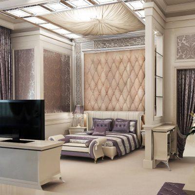 Спальня-гостиная на фото