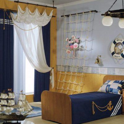 Морская детская комната мечта