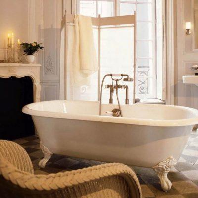 Уютное оформление ванной
