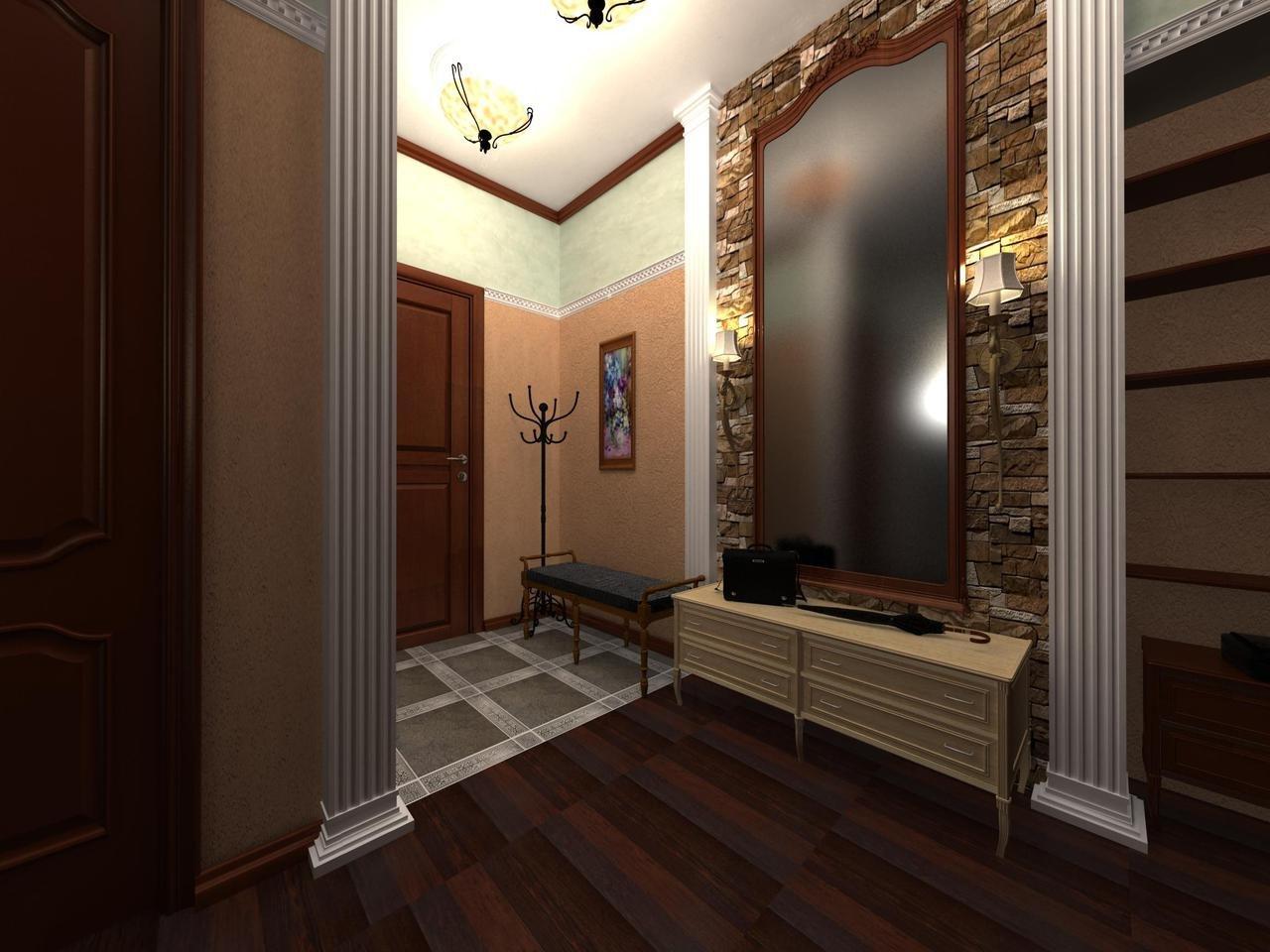зеркало в коридоре в квартире фото