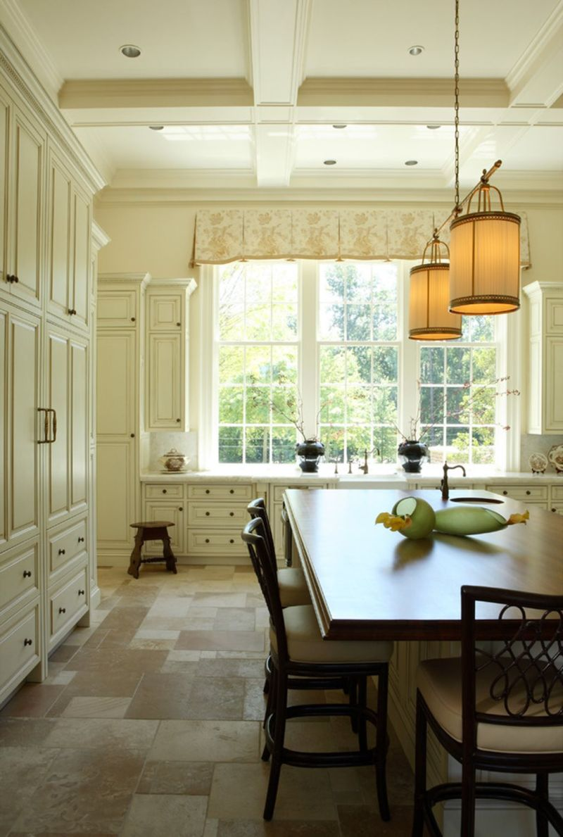Лампы освещения на кухне