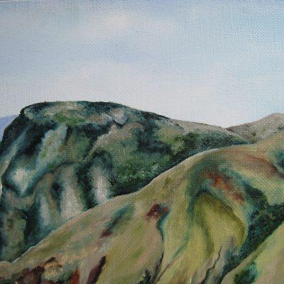 Горы на изображении