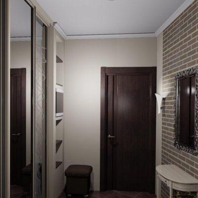 Железная дверь в прихожей