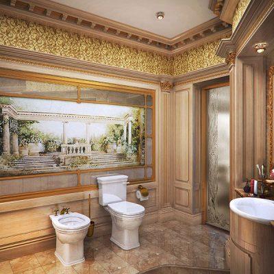 Богатая ванная