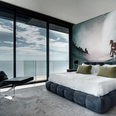 Красивые фотообои в спальне по фен шуй