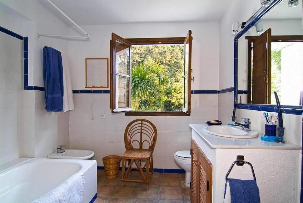 Ванная комната прованс стиль на фото пример