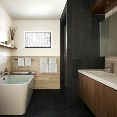 Модерн стиль ванной