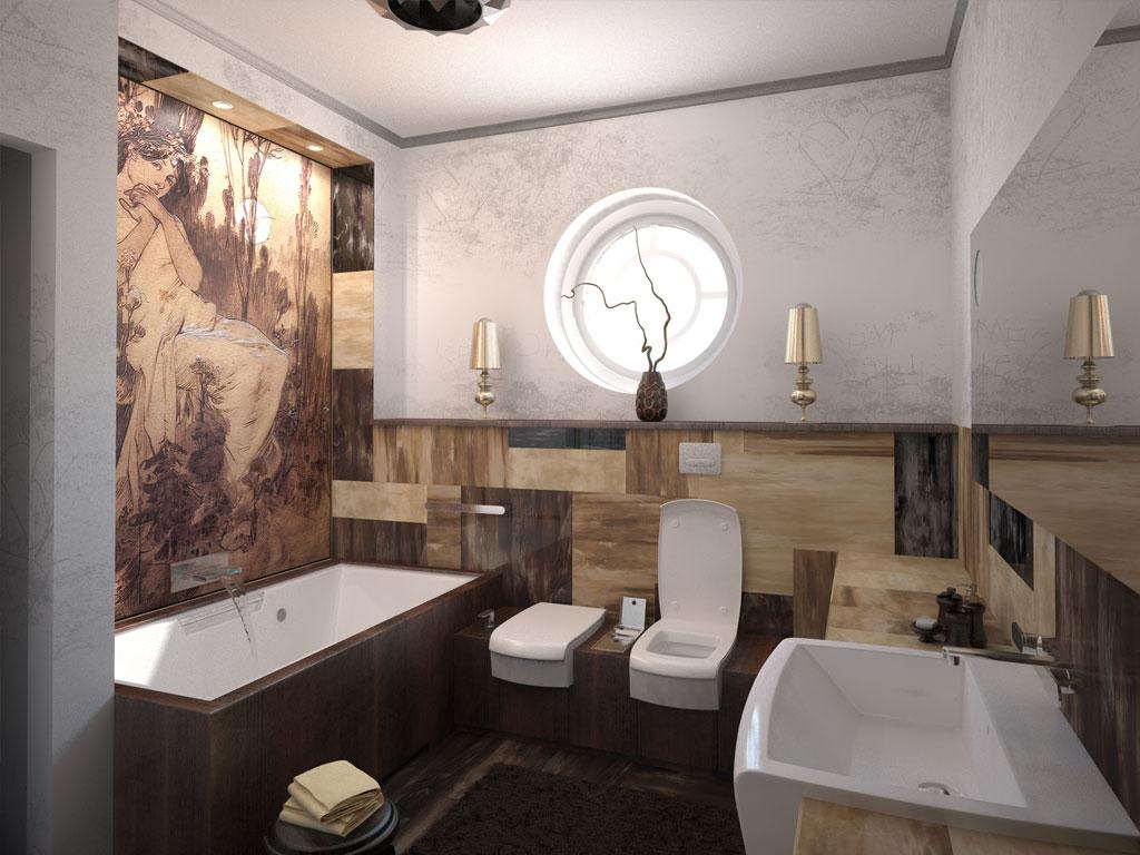 Модерн лоск ванной