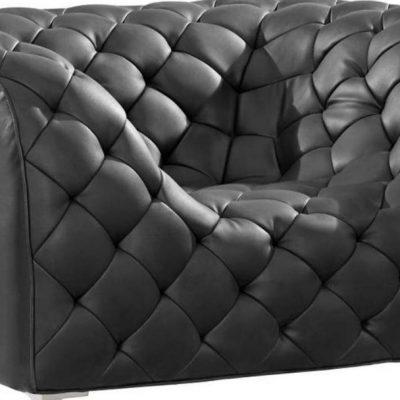 Маленький диван из кожи