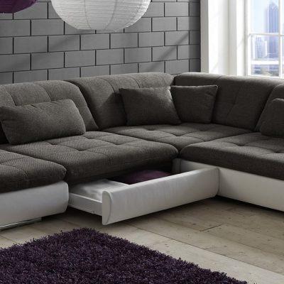 Раскладка углового дивана