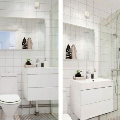 Современная ванная комната на фото с туалетом