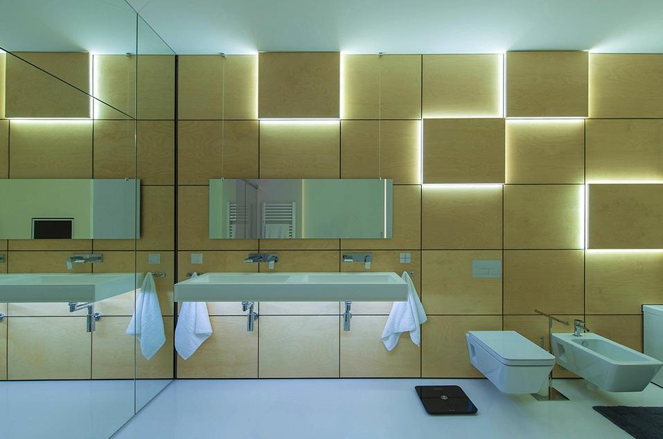 Подсветка ванной