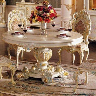 Зал борокко стиля мебели