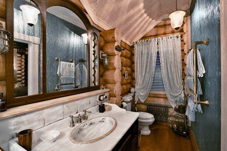 Дизайн в ванной русские
