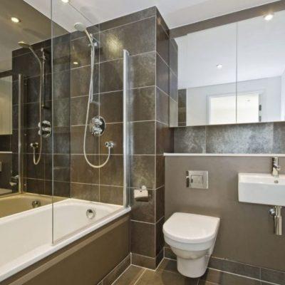 Фото интерьера модерн стиля ванной