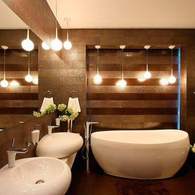 Подсветка ванной комнаты