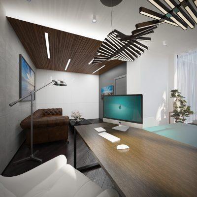 Длинный стол кабинета