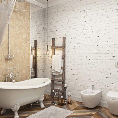Уютная ванная
