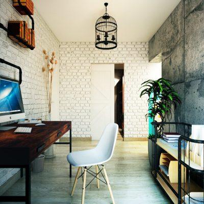 Пример интерьера кабинета