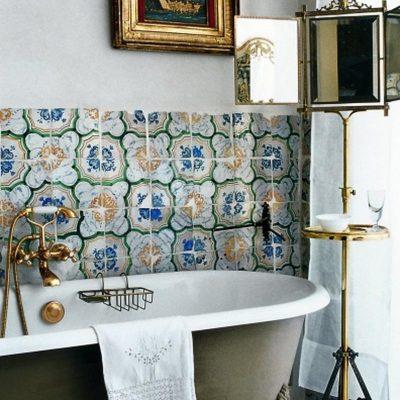 Сантехника в стиле марокко