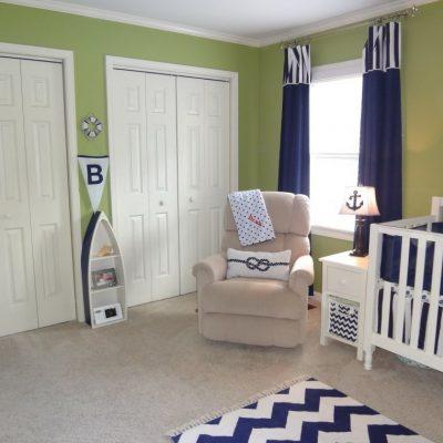 Оформление спальни дизайнером для ребенка грудного