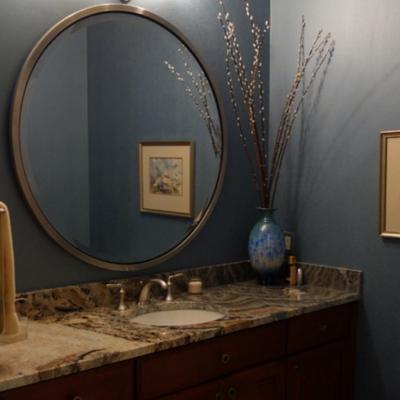 Образец ванной в стиле фьюжн