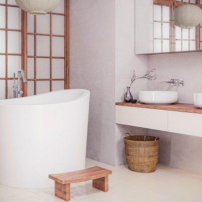 Уникальная ванная на фото