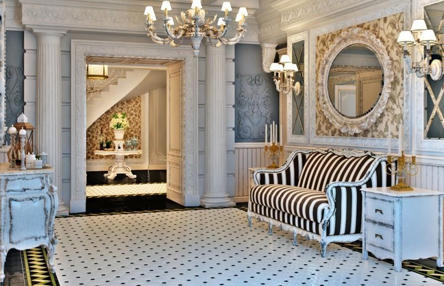 Мебель для прихожей прованс: провинциальная простота и буржуазный шик