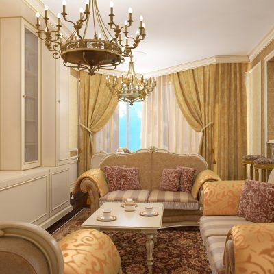 Красивый зал