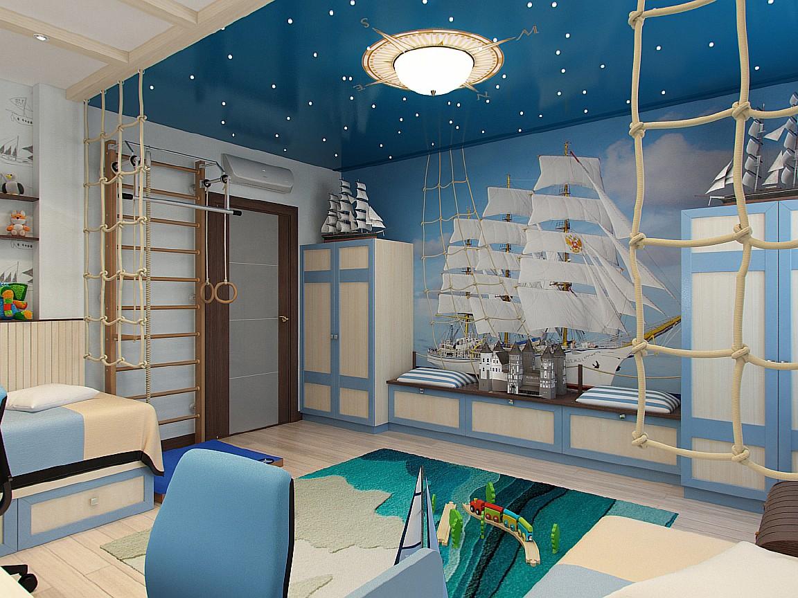 Люстра в морском стиле в детскую: свежие идеи и советы по выбору