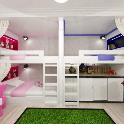 Комната для нескольких детей