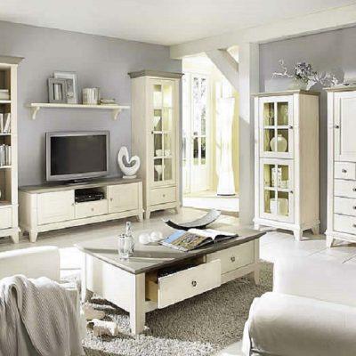 Белая мебель в неоклассике