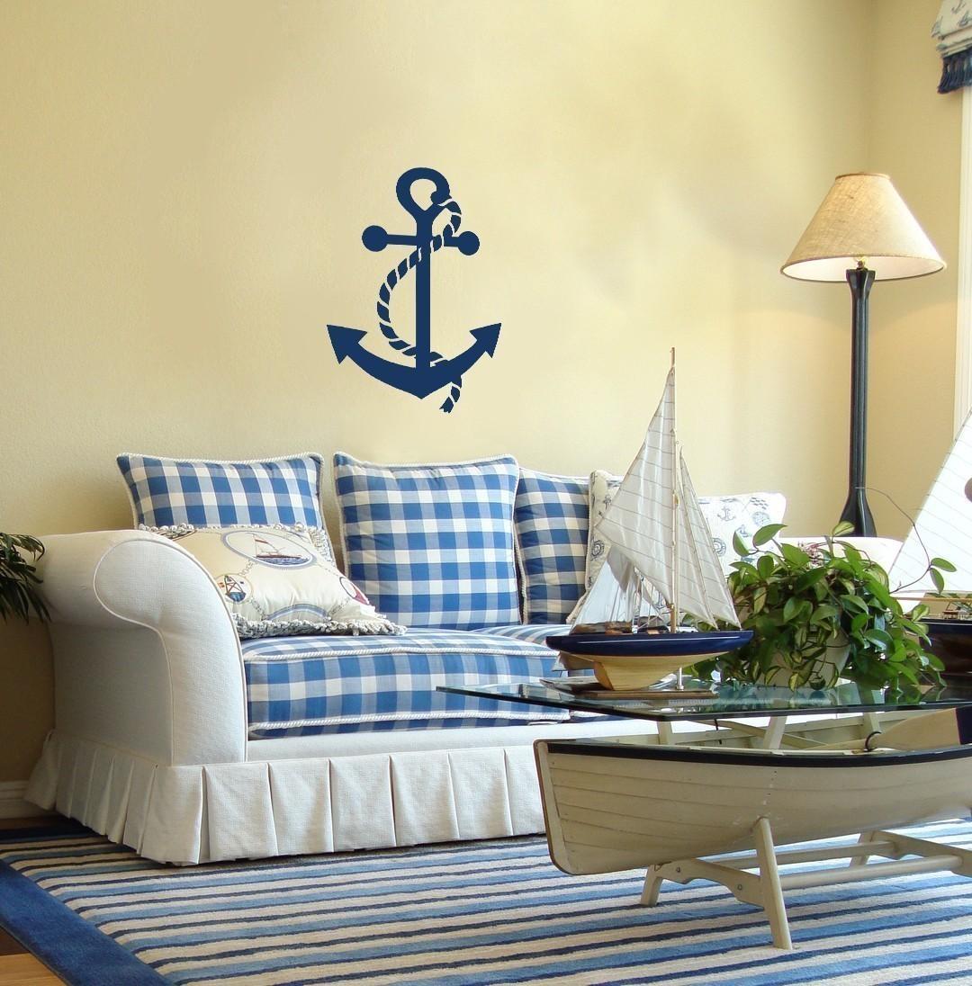 Морской стиль в декоре своими руками