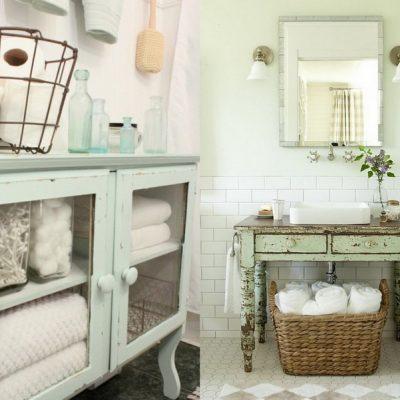 Стильная ванная прованс