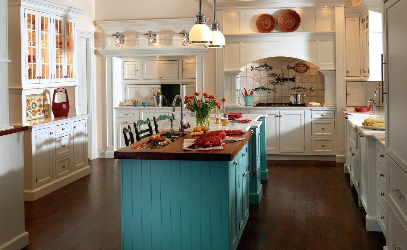 NCFFL - New Canaan Flag Football League Cottage style kitchens pictures