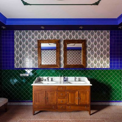 Смелый декор ванной