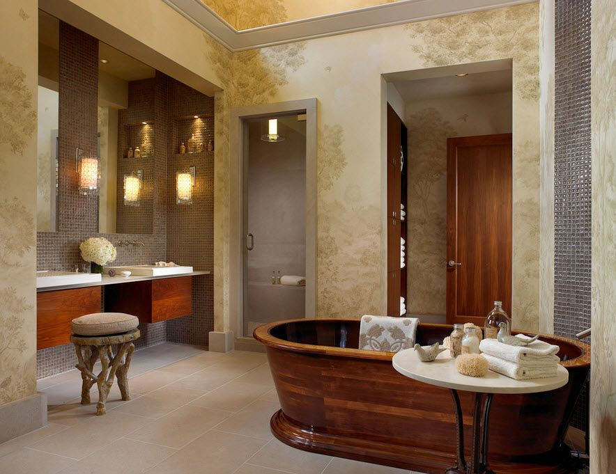 Оформление ванной дизайнером