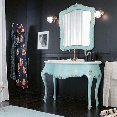 зеленый столик