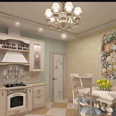 Пример оформленной кухни