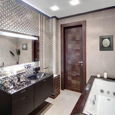 Узкий вариант ванной