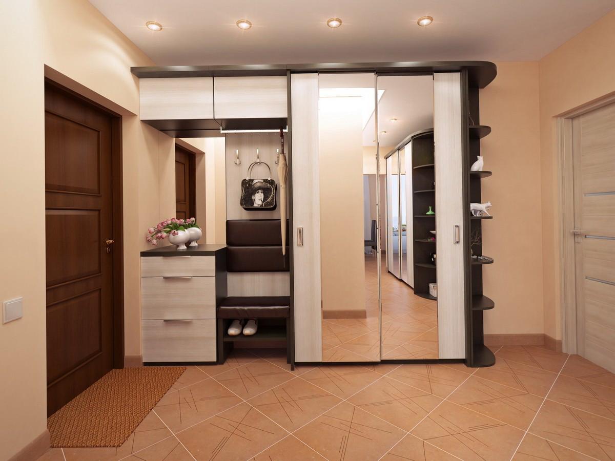 Шкаф купе в коридоре дизайн