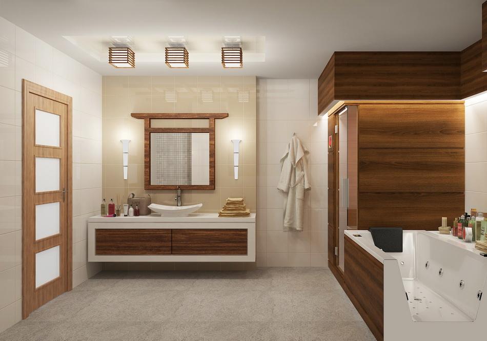 Ванная в японском стиле: союз традиций и современности