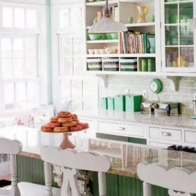 Пример кухни интерьера шебби шик