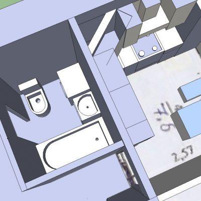 Расположение комнат на схеме