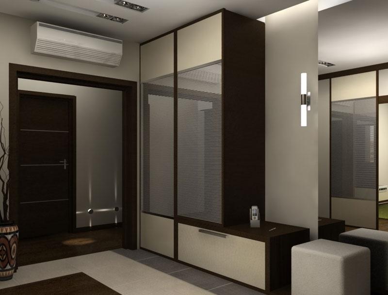Шкаф стенка в прихожей