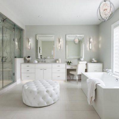 Пуфик в ванной