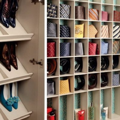 Шкаф для обуви и галстуков