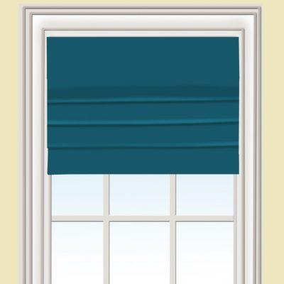 Схема штор бирюзовых