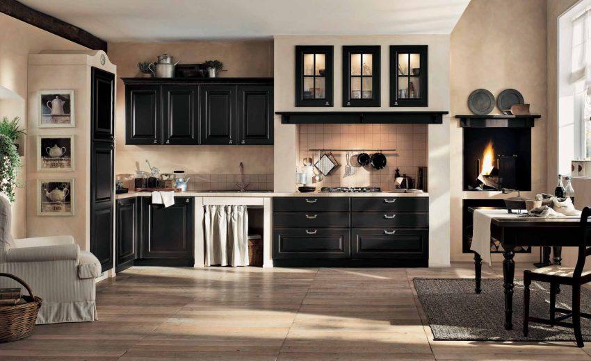 Ченый цвет кухни